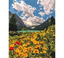 Картина по номерам Величественные альпы
