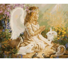 Картина по номерам Ангел