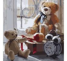 Картина по номерам Игрушки детства