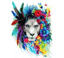 Картина по номерам Волшебный лев
