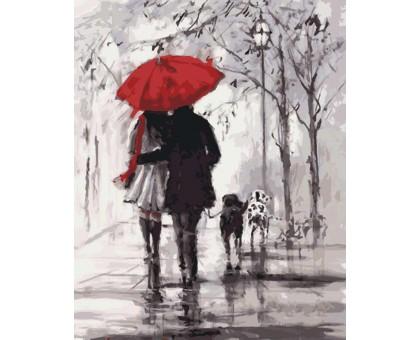 Картина по номерам Осенняя прогулка