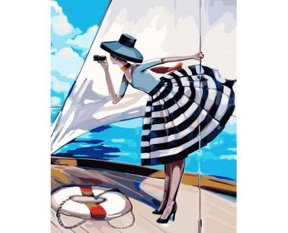 Картина по номерам Прогулка на яхте