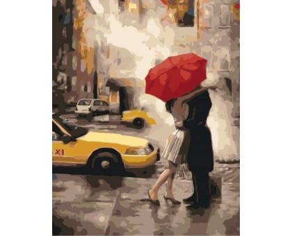 Картина по номерам Под зонтом счастья