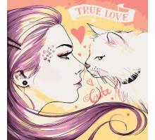Картина по номерам True love