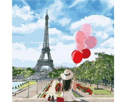 Картина по номерам Утро в Париже