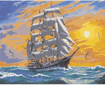 Картина по номерам Хозяин морей
