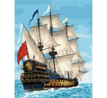 Картина по номерам Королевский флот