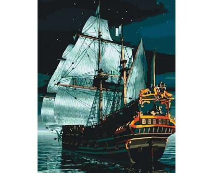 Картина по номерам Ночной флагман