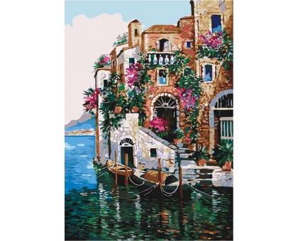 Картина по номерам Краски Тосканы