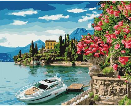 Картина по номерам Озеро Комо