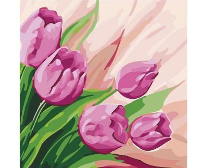 Картина по номерам Перские тюльпаны 2