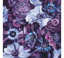 Картина по номерам Пурпурные цветы