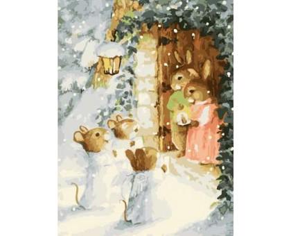 Картина по номерам Рождественские калядки