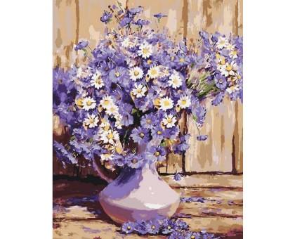 Картина по номерам Букет полевых цветов