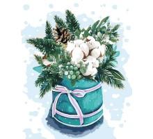 Картина по номерам Краски зимы