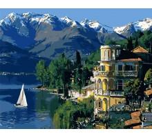 Картина по номерам Вдохновляющая Италия