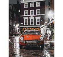 Картина по номерам Италия Красное авто