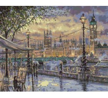Картина по номерам Вечерний Лондон