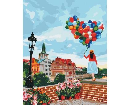 Картина по номерам Прогулка по Праге