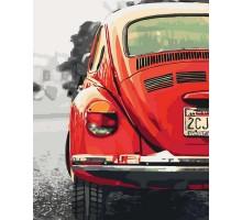Картина по номерам Авто в стиле ретро