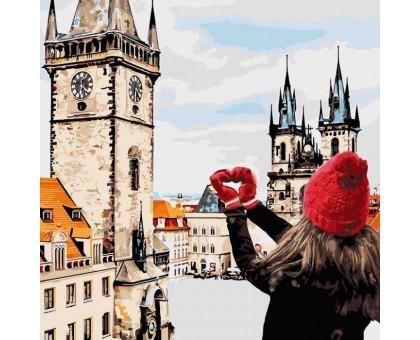 Картина по номерам С любовью в сердце