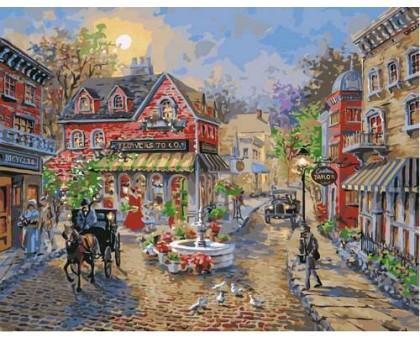 Картина по номерам Старинный городок