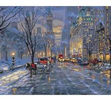 Картина по номерам Краски ночного города