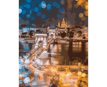 Картина по номерам Очарование ночного города