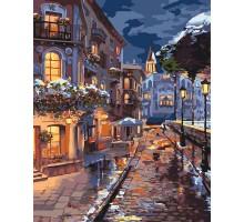 Картина по номерам Зимний городок