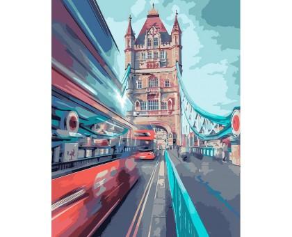 Картина по номерам Динамический лондон