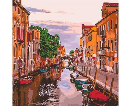 Картина по номерам Венецианский вечер