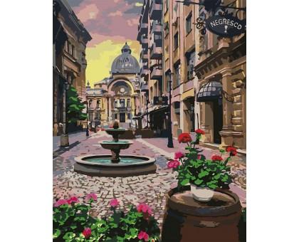 Картина по номерам Бухарест летом