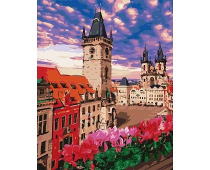 Картина по номерам Терраса в Праге