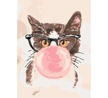 Картина по номерам Bubble Gum