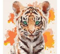 Картина по номерам Тигрюля