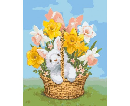Картина по номерам Весенний подарок