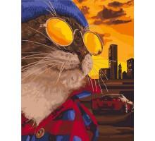 Картина по номерам Дерзкий кот