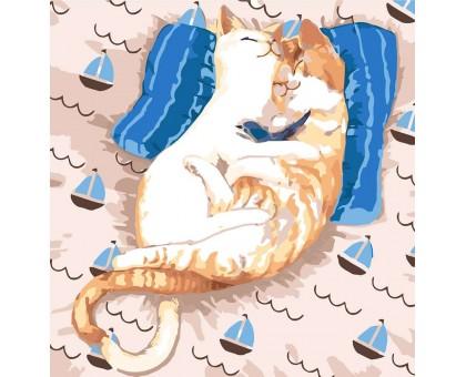 Картина по номерам Коты Ля-Мур