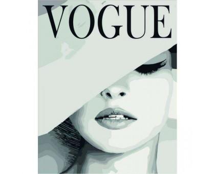 Картина по номерам VOGUE
