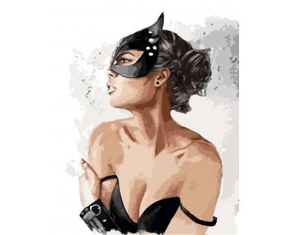 Картина по номерам Леди кошка