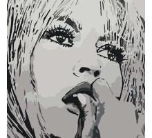 Картина по номерам Бриджит Бардо