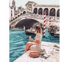 Картина по номерам Влюбленная в Венецию
