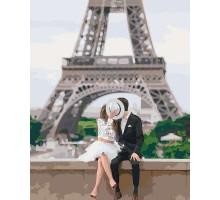 Картина по номерам Парочка в Париже