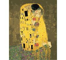 Картина по номерам Поцелуй Густав Климт 2