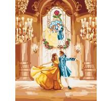 Картина по номерам Красавица и чудовище Танец