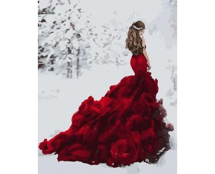 Картина по номерам Снежная королева