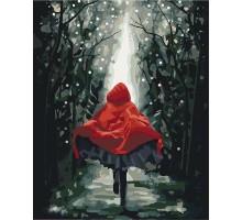 Картина по номерам Красная шапочка