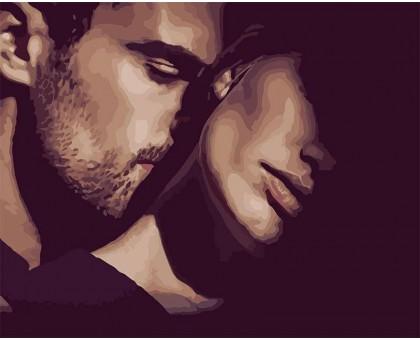 Картина по номерам Прикосновение любви