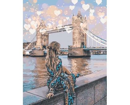 Картина по номерам Романтичный Лондон