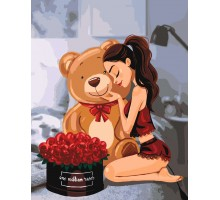 Картина по номерам One million roses